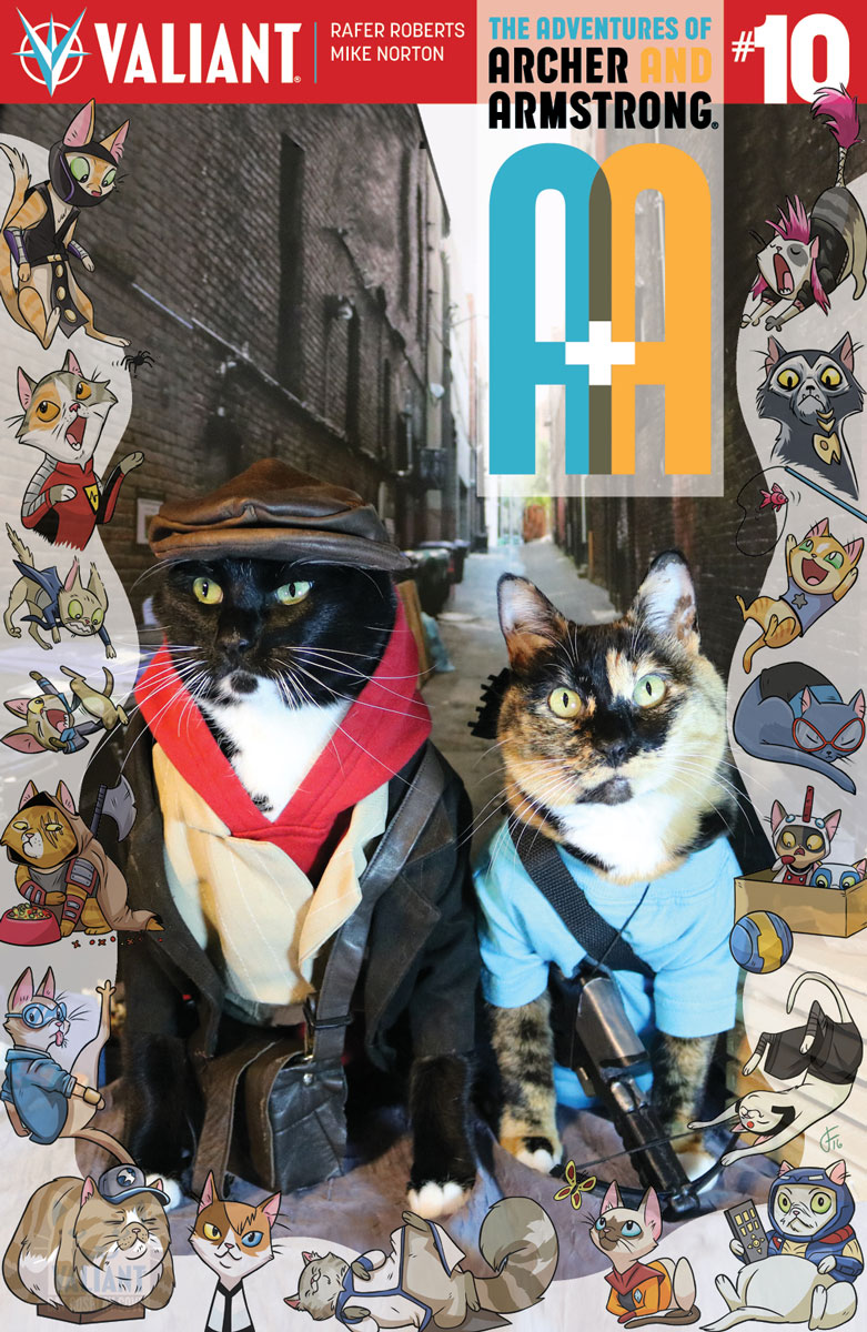 Valiant Cat Cosplay